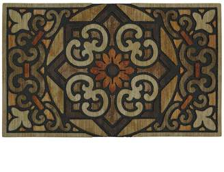 Mohawk Home Metal Relief Scroll Doormat - 18'' x 30''