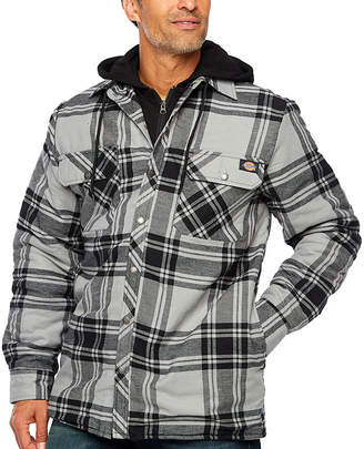 Dickies Icon Hooded Quilted Shirt Jacket