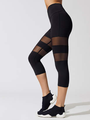 Michi PSYLOQUE HIGH WAISTED KNEE CROP LEGGING