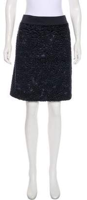 Max Mara 'S Plissé Knee-Length Skirt