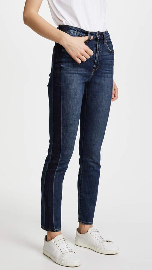 High Ten Skinny Tuxedo Jeans