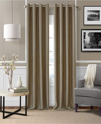 "Elrene Brooke 52"" x 95"" Faux-Silk Blackout Grommet Curtain Panel"