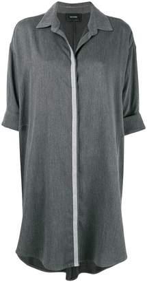 Irina Schrotter trimmed tunic shirt