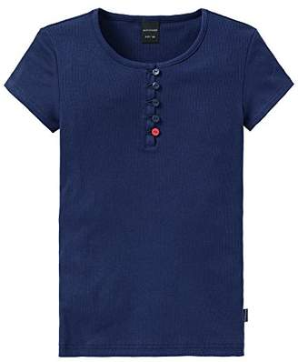 Schiesser Girl's Pyjama Top - Blue