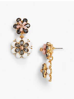 Talbots Flower Drop Earrings