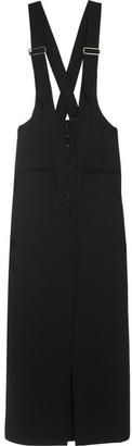 Lanvin - Wool-gabardine Maxi Skirt - Black $2,900 thestylecure.com