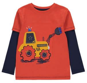 George Orange Digger T-Shirt