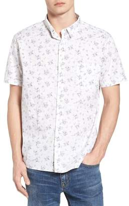 Rails Carson Slim Fit Floral Print Sport Shirt