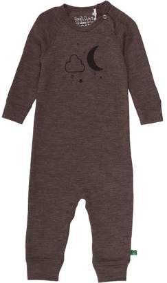 Green Cotton Fred's World By Fred's World by Baby Wool Bodysuit