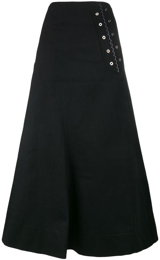 A Line Maxi Skirt - ShopStyle Australia