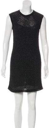 Chanel Open Knit Sleeveless Dress