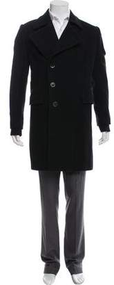 Givenchy Structured Wool Overcoat