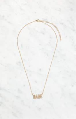 LA Hearts Babe Necklace