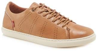 Levi's LEVIS Tan Leather 'Vernon' Trainers