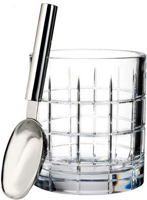 Waterford Cluin Lead Crystal Ice Bucket & Scoop