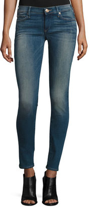 True Religion Stella Low-Rise Skinny Jeans, Night $189 thestylecure.com