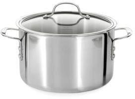 Calphalon 8 Quart Tri-Ply Stainless Steel Stock Pot