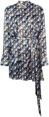 Mary Katrantzou Sonia tiger print dress