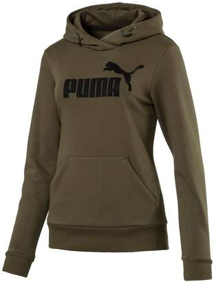 Puma Women's Elevated Logo Graphic Hoodie