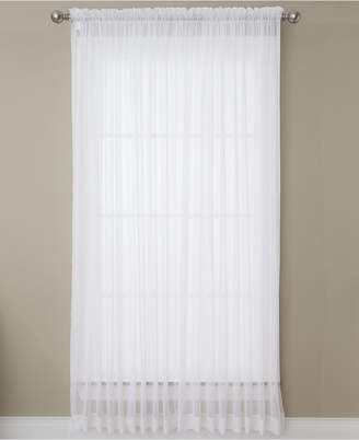 """Miller Curtains Solunar Voile 54""""x 95"""" Insulating Sheer Curtain Panel"""