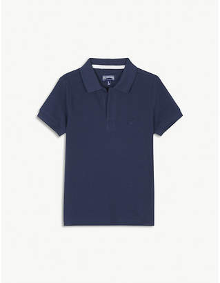 Vilebrequin Turtle pique-cotton polo shirt 4-14 years