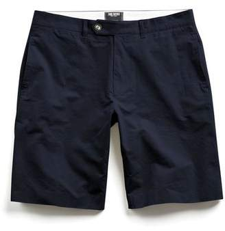 Todd Snyder Hudson Tab-front Chino Short in Navy