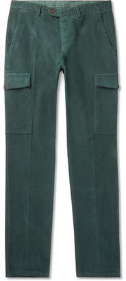 Thom Sweeney Stretch-Cotton Corduroy Trousers
