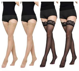 Suspender tights mock stockings garter belt pantyhose veneziana sexy strip