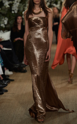 Ralph Lauren Kassy Strapless Gown $7,990 thestylecure.com