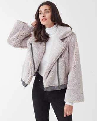 Splendid Leo Azymmetrical Zip Jacket