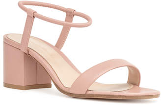 Gianvito Rossi Dusty pink nappa sandals