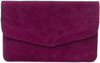 Phase Eight Caitlin Suede Clutch