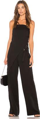 Bobi BLACK Strapless Jumpsuit
