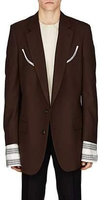 Dries Van Noten Men's Oversized Two-Button Sportcoat