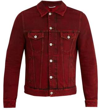 Valentino Overdyed denim jacket