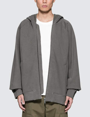 Public School T.S Full Zip Hoodie With Transformable Hood