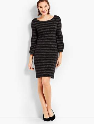 Talbots Twinkling Stripe Shift Dress