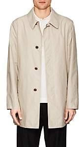Fay Men's Cotton-Blend Tech-Taffeta Raincoat-Sand