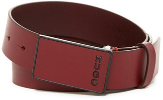 HUGO BOSS Gusyn Leather Belt $115 thestylecure.com