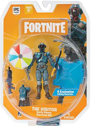 Fortnite 1 Figure Pack Early Game Survival Kit B The Visitor S2