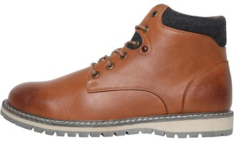 9d5307df4d4 Mad Wax Mens Lace Up Boots Tan