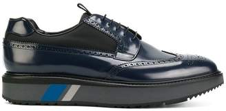 Prada platform lace-up brogues