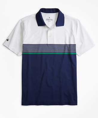 Brooks Brothers Performance Series Engineered Stripe Polo Shirt