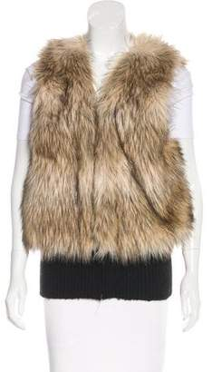 Juicy Couture Faux Fur Sleeveless Vest