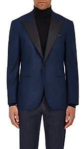 Sartorio SARTORIO MEN'S PG WOOL ONE-BUTTON TUXEDO JACKET - NAVY SIZE 42 R