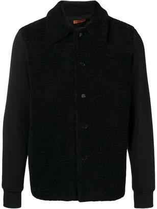 Barena textured button front jacket