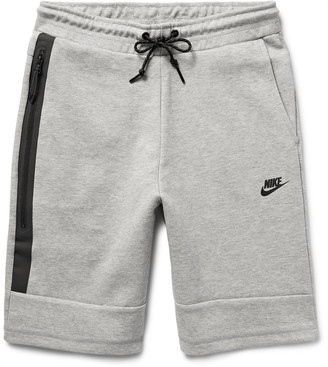 Nike Cotton-Blend Tech Fleece Shorts $70 thestylecure.com