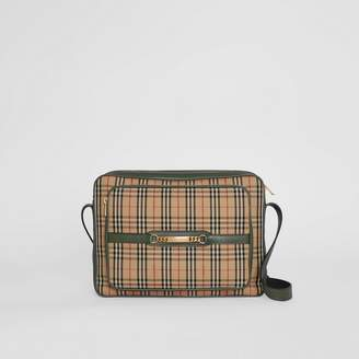 Burberry The Large 1983 Check Link Camera Bag, Green