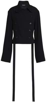 Ann Demeulemeester Double-breasted Wool Coat