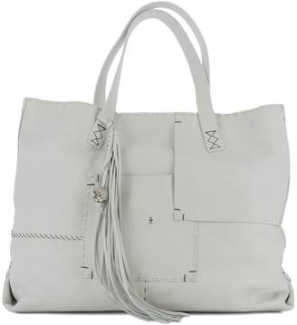 Henry Beguelin White Leather Shoulder Bag